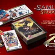 『Samurai Shodown Switch – Shockbox Gold Edition』がフランスの出版社Pix'n Loveから発売決定!