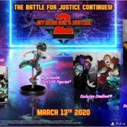 『僕のヒーローアカデミア One's Justice 2 Collector's Edition』が北米で発表!