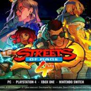 『Streets of Rage 4』の発売時期が2020年前半に決定!