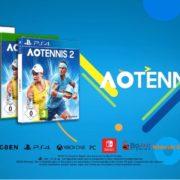 PS4&Xbox One&Switch&PC用ソフト『AO Tennis 2』の海外ローンチトレーラーが公開!プレイ動画も