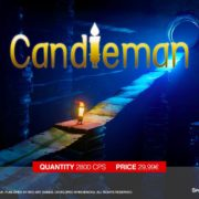 Switch版『Candleman (キャンドルちゃん)』のパッケージ版が海外向けとして発売決定!