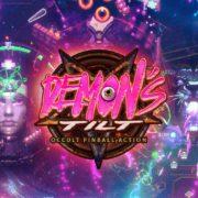 Switch版『DEMON'S TILT』が2020年1月9日から配信開始!メガドライブ級のサウンドトラックを特色とするクレイジーなピンボールゲーム