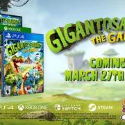 PS4&Xbox One&Switch&PC用ソフト『Gigantosaurus:The Game』の海外発売日が2020年3月27日に海外発売決定!