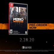 Switchパッケージ版『Metro Redux』が海外向けとして2020年2月28日に発売決定!