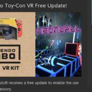 『Neonwall』が「Nintendo Labo Toy-Con 04: VR Kit」にサポートするように!