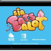 Switch版『Sir Eatsalot』の海外配信日が2020年1月9日に決定!おかしなカートゥーンの世界が舞台のプラットフォームアドベンチャーゲーム