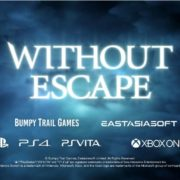PS4&PSVita&Xbox One&Switch版『Without Escape』が海外向けとして2020年1月15日に発売決定!