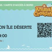 フランスの小売店Micromaniaが『あつまれ どうぶつの森』の予約特典「搭乗券+Nintendo Switch Online利用券」を発表!