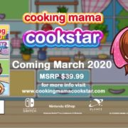 PS4&Switch用ソフト『Cooking Mama: Cookstar』の海外発売日が2020年3月に決定!