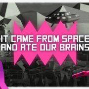 【更新】『It came from space and ate our brains』が日本でも発売予定であることが明らかに!ユニークな見下ろし型シューターゲーム