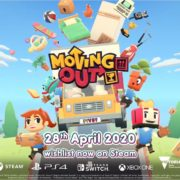PS4&Xbox One&Switch&PC用ソフト『Moving Out』の海外配信日が2020年4月28日に決定!おかしな引っ越しシミュレーターゲーム