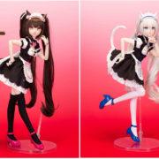 「ネコぱら」より1/4 完成品ドール『AniFeeシリーズ002 ネコぱら ショコラ』と『AniFeeシリーズ003 ネコぱら バニラ』が2020年10月に発売決定!