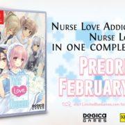 『白衣性愛情依存症』と『白衣性恋愛症候群』のSwitchパッケージ版「Nurse Love Obsession」がLimited Run Gamesから発売決定!