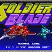『PCエンジン mini』の収録タイトル紹介映像No.16「Soldier Blade」編が公開!