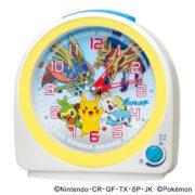 セイコークロックより「ポケットモンスター」の新しい目ざまし時計1機種が2020年2月21日より販売決定!