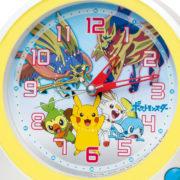 セイコークロックより発売される「ポケットモンスター」の新しい目ざまし時計『CQ422W』の予約が開始!