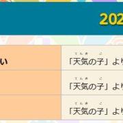 『太鼓の達人 Nintendo Switchば~じょん! 』で2020年2月13日に「天気の子主題歌パック」「ボーカロイド™曲パックVol.4」が配信決定!