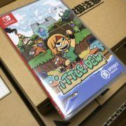 1Print Gamesから発売されるSwitchパッケージ版『Ittle Dew』の実際の写真が公開!