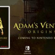 Switch版『Adam's Venture: Origins』が海外向けとして発売決定!