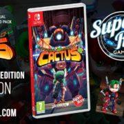 Switch用ソフト『アサルト アンドロイド カクタス プラス』のSwitch向けパッケージ版がSuper Rare Gamesから発売決定!