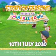 『牧場物語 再会のミネラルタウン』のヨーロッパでの発売日が2020年7月10日に決定!