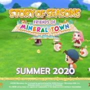 『牧場物語 再会のミネラルタウン』の北米での発売日が2020年夏に決定!