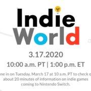 【更新】Switch向けのインディータイトルが「Indie World Showcase – 3.17.2020」で大量発表!