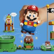 マリオがレゴになって現実の世界に飛び出す『レゴ®スーパーマリオ™』が2020年後半に発売決定!