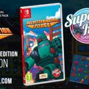 Switch用ソフト『Mechstermination Force』のSwitch向けパッケージ版がSuper Rare Gamesから発売決定!