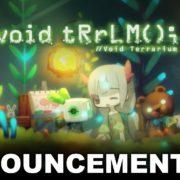 PS4&Switch用ソフト『void tRrLM(); //ボイド・テラリウム』が北米&ヨーロッパ向けとして2020年夏に発売決定!