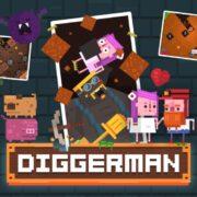 Switch版『Diggerman』が2020年4月30日から国内配信開始!アーケードスタイルの穴掘り2Dアクションゲーム