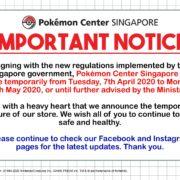 「新型コロナウイルス」感染拡大の影響でポケモンセンターシンガポールが1カ月間閉鎖されることが発表に!