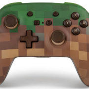 PowerAから『Minecraft』より「草ブロック」デザインの新しい『Nintendo Switch ワイヤレスコントローラー』が海外向けとして発売決定!