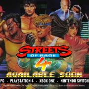 『Streets of Rage 4』の発売時期が2020年春に決定!