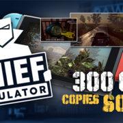 Switch版『Thief Simulator』の販売数が30万本に到達!