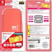 アイレックスからNintendo Switch Lite専用収納ポーチ「EVAポーチ for Nintendo Switch Lite (コーラル)」が2020年6月に発売決定!