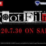 角川ゲームミステリー最新作『Root Film』の繁体字中国語版&ハングル版が2020年7月30日に発売決定!