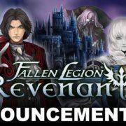 PS4&Switch用ソフト『Fallen Legion Revenants』が2021年に発売決定!