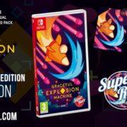 『Graceful Explosion Machine』のSwitch向けパッケージ版がSuper Rare Gamesから海外発売決定!