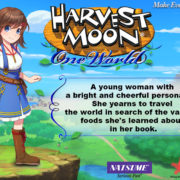 PS4&Switch用ソフト『Harvest Moon: One World』の女性主人公のイラストが公開!