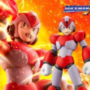 コトブキヤから「ロックマンX4」よりプラモデル『エックス ライジングファイアVer.』が2020年11月に発売決定!予約も開始