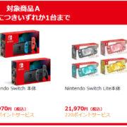 6月4日 朝7:00より、ビックカメラcomで『Nintendo Switch本体』各種と『リングフィット アドベンチャー』の抽選販売の受付が開始!