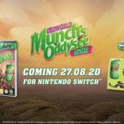『Oddworld : Munch's Oddysee』のSwitch向けパッケージ版が海外向けに発売決定!