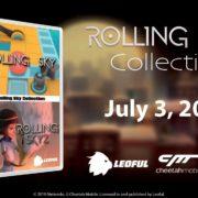 アジア向けSwitchパッケージ版『Rolling Sky Collection』の発売日が2020年7月3日に決定!