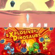 Switch版『Laraan』と『Explosive Dinosaurs』が海外向けとして配信決定!