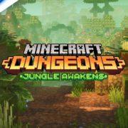 『Minecraft Dungeons』のDLC「Jungle Awakens (ジャングルの目覚め)」のローンチトレーラーが公開!