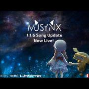 『MUSYNX』の更新データVer.1.1.6 トレーラーが公開!