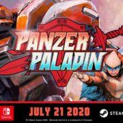 Switch&PC用ソフト『Panzer Paladin』の海外配信日が2020年7月21日に決定!