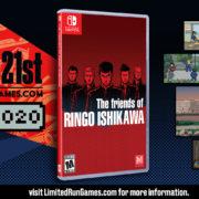 Switch版『The friends of Ringo Ishikawa』の海外向けパッケージ版がLimited Run Gamesで予約受付開始へ!