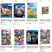 【TSUTAYA ゲームランキング】2020年7月6日~7月12日のランキングが公開!